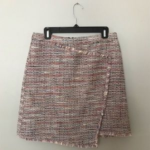 Halogen tweed skirt
